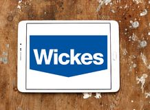 Logo del rivenditore di Wickes Fotografia Stock