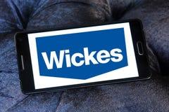 Logo del rivenditore di Wickes Fotografie Stock Libere da Diritti