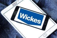 Logo del rivenditore di Wickes Immagine Stock Libera da Diritti