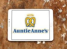 Logo del ` s di Auntie Anne Fotografie Stock Libere da Diritti