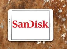 Logo del SanDisk Fotografie Stock