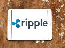 Logo del sistema di pagamento dell'ondulazione immagine stock libera da diritti