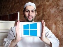 Logo del sistema operativo Windows Fotografia Stock