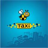 Logo del taxi della città Fotografie Stock Libere da Diritti