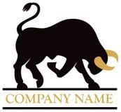 Logo del toro Fotografia Stock Libera da Diritti