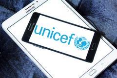 Logo del Unicef Fotografia Stock Libera da Diritti