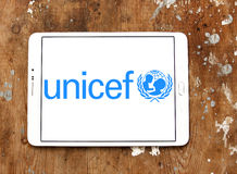 Logo del Unicef Immagine Stock