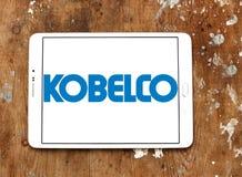 Logo dell'acciaieria di Kobelco Immagini Stock Libere da Diritti
