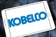 Logo dell'acciaieria di Kobelco Fotografia Stock Libera da Diritti
