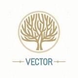 Logo dell'albero di vettore Immagine Stock Libera da Diritti
