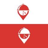 Logo dell'alimento Fotografia Stock Libera da Diritti