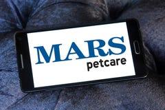 Logo dell'alimento per animali domestici del petcare di Marte Immagini Stock Libere da Diritti