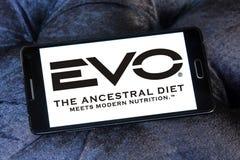 Logo dell'alimento per animali domestici di EVO Fotografie Stock