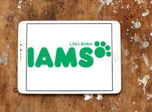 Logo dell'alimento per animali domestici di Iams Immagini Stock