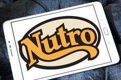 Logo dell'alimento per animali domestici di Nutro Fotografie Stock