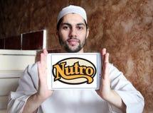 Logo dell'alimento per animali domestici di Nutro Fotografie Stock Libere da Diritti