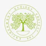 Logo dell'ambiente Fotografia Stock