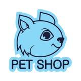 Logo dell'animale domestico Fotografia Stock Libera da Diritti