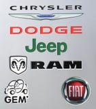Logo dell'automobile Immagini Stock