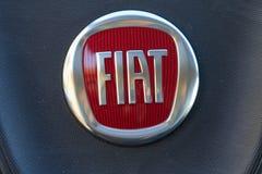 logo dell'automobile di Fiat Fotografia Stock