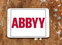 Logo dell'azienda di software di ABBYY Fotografie Stock