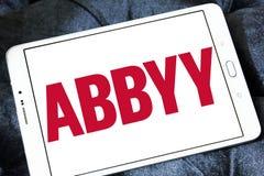 Logo dell'azienda di software di ABBYY Immagini Stock Libere da Diritti