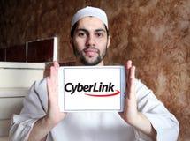 Logo dell'azienda di software di CyberLink Immagini Stock