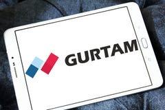 Logo dell'azienda di software di Gurtam Fotografie Stock