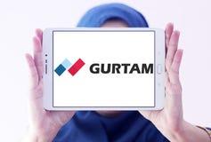 Logo dell'azienda di software di Gurtam Fotografia Stock