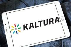 Logo dell'azienda di software di Kaltura Fotografie Stock Libere da Diritti