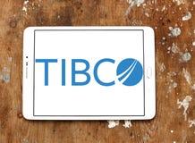 Logo dell'azienda di software di TIBCO Fotografia Stock Libera da Diritti