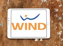Logo dell'azienda di telecomunicazioni dell'Italia del VENTO Fotografia Stock Libera da Diritti