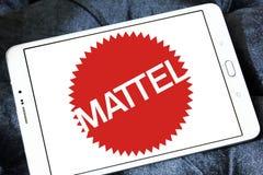 Logo dell'azienda manifatturiera del giocattolo di Mattel Immagini Stock