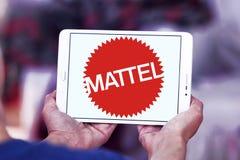 Logo dell'azienda manifatturiera del giocattolo di Mattel Immagini Stock Libere da Diritti