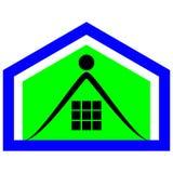 Logo dell'elite della proprietà Fotografia Stock