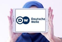 Logo dell'emittente di Deutsche Welle Immagine Stock Libera da Diritti
