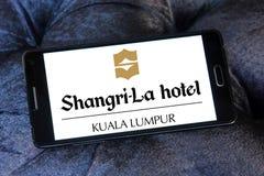 Logo dell'hotel di Shangri-La Immagine Stock