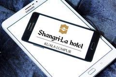 Logo dell'hotel di Shangri-La Immagini Stock Libere da Diritti
