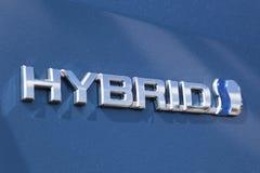 Logo dell'ibrido di Toyota Immagine Stock