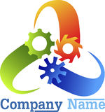 Logo dell'ingranaggio Fotografie Stock