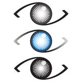 Logo dell'occhio Immagini Stock Libere da Diritti