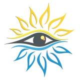 Logo dell'occhio Fotografia Stock Libera da Diritti