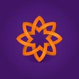Logo dell'oro Fotografia Stock
