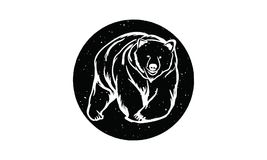 Logo dell'orso illustrazione vettoriale