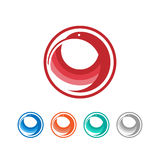 Logo dell'uccello Fotografia Stock