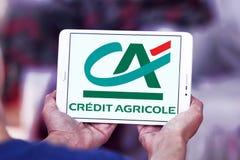 logo della banca del agricole di credito Fotografie Stock Libere da Diritti