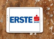 Logo della Banca del gruppo di Erste Fotografie Stock