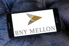 Logo della banca di BNY Mellon Fotografia Stock
