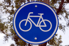 Logo della bici del ciclo Immagine Stock Libera da Diritti