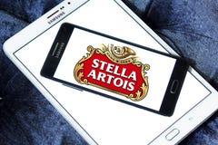 Logo della birra di Stella Artois Immagini Stock Libere da Diritti
